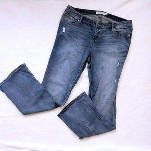 Torrid Jeans High Rise Distressed Bootcut